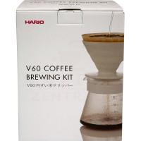 Hario V60 Filterkaffee-Set 02 weiß