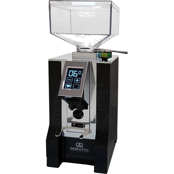 Eureka Espressomühle Mignon Perfetto, schwarz/chrom