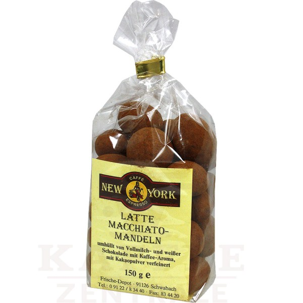 New York Latte-Macchiato Mandeln, 150 g
