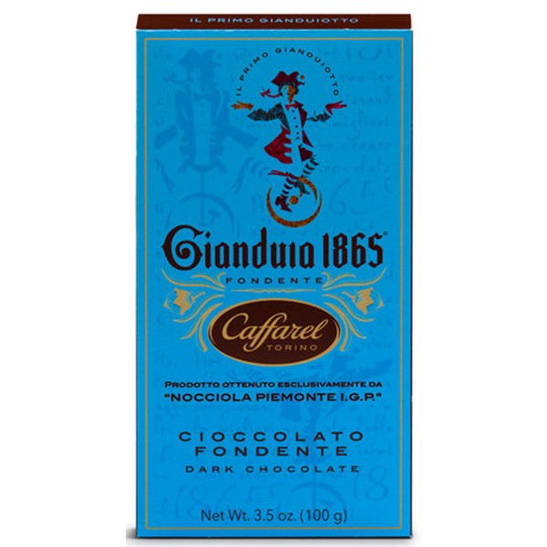 Caffarel Gianduia dunkle Schokolade, 100g