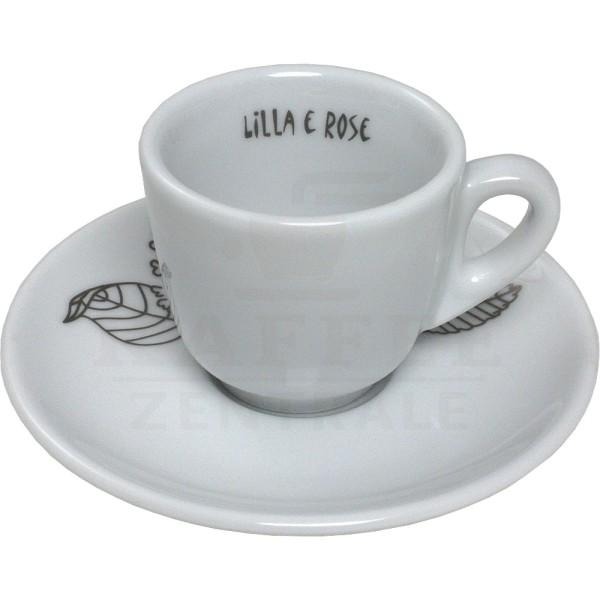 Blasercafé Lilla e Rose Espressotasse