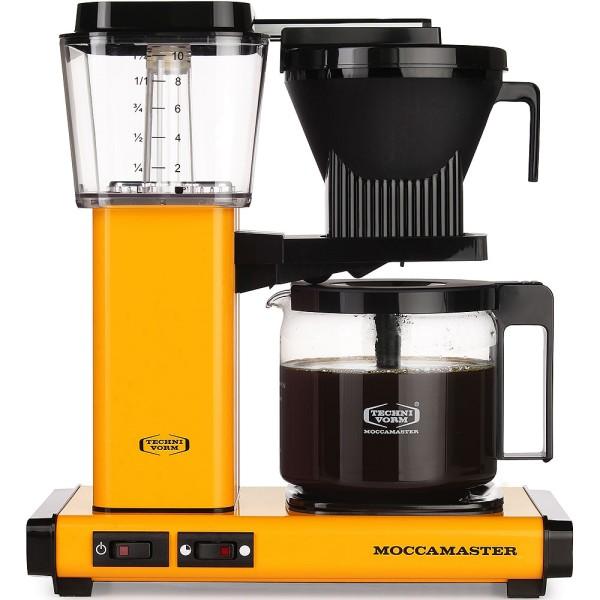 Moccamaster KBG 741 AO Filterkaffeemaschine, Yellow Pepper