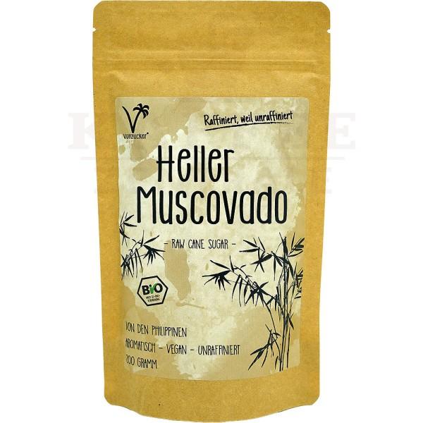 Vollzucker Muscovado Bio-Zucker, 200 g