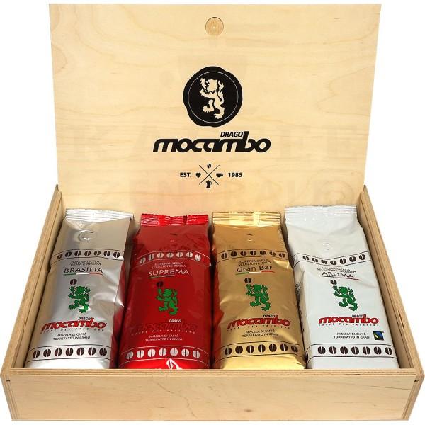 Mocambo Verkostungsbox, 4 x 250 g Bohne